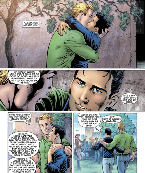 dc comics outs alan scott the original green lantern 2 Not enough free gay porn? Go to Best scenes of Free Gay!