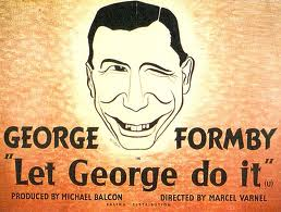 GEORGE FORMBY T-SHIRT THE UKULELE MAN Silver Screen Legend Music Hall