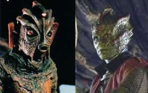 Time for a game of 'Doctor Who monster spot-the-difference'...