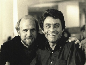 Bill Bixby with Kenneth Johnson, creator of the series.